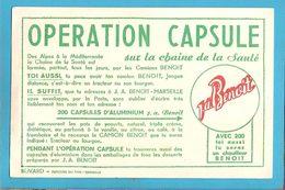 BUVARD :Operation CAPSULE J.A. Benoit Marseille - Blotters