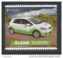 Aland 2013 N°376 Neuf Europa Voiture Postale - Ålandinseln