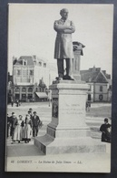 CPA 56 LORIENT - La Statue De Jules Simon - LL 48 - Réf. D 261 - Lorient