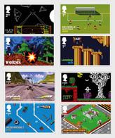 Great Britain 2020 - Video Games Stamp Set Mnh - 1952-.... (Elizabeth II)
