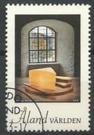Aland 2013 N°375 Oblitéré Fromage - Aland