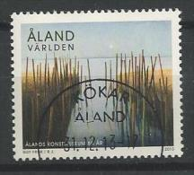 Aland 2013 N°369 Oblitéré Musée D'arts - Aland