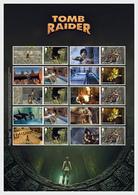 Great Britain 2020 - Video Games Tomb Raider Collector's Sheet - Smillers - 1952-.... (Elizabeth II)