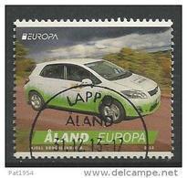 Aland 2013 N°376 Oblitéré Europa Voiture Postale - Aland