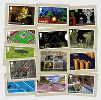 Great Britain 2020 - Video Games Postcard Set - 1952-.... (Elizabeth II)