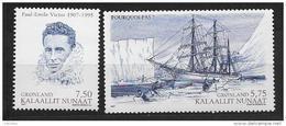 Groënland 2007 N° 475/476 Neufs Expéditions Polaires De Paul Emile Victor - Grönland