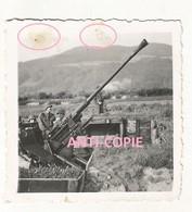 WW2 PHOTO ORIGINALE Soldat Slovène Uniforme Allemand (lire) FLAK LINZ ? AUTRICHE ÖSTERREICH 1943 - 1939-45