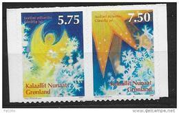Groënland 2007 N° 479/480 Adhésifs Neufs Noël - Neufs
