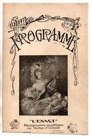 """PROGRAMME . L'EXACT . """" LA FLAMME """" . M. ALCOVER, BLANCHAR, D'YD, Mme POLAIRE, MAREIL, CHAPELAS - Réf. N° 60P - - Programmes"""