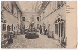 Como - Grand Hotel Volta, Interesting Interior View ± 1910, Message - Como