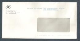 France, EMA, Enveloppe Service Client Courrier, Libourne, La Poste SCC, TTB, Les Services En Ligne De La Poste... - Andere