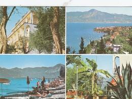 TORRI DEL BENACO-VERONA-LAGO DI GRAND HOTEL=EDEN=-CARTOLINA VERA FOTOGRAFIA NON VIAGGIATA - Verona