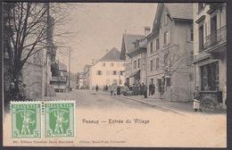 CPA  Suisse, PESEUX, Entree Du Village, 1908 - NE Neuchatel