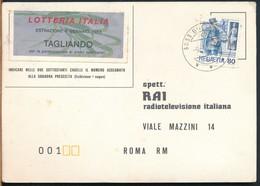 °°° 17132 - LOTTERIA ITALIA - 1988 °°° - Billetes De Lotería