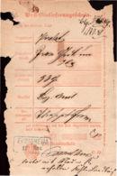 1871 EUBIGHEIM Postschein C.62. - Deutschland