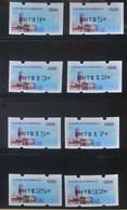 Set Black Imprint -Taiwan 2013 ATM Frama Stamps-ROCUPEX'13 TAIPEI - Presidential Mansion Relic Unusual - 1945-... Republic Of China