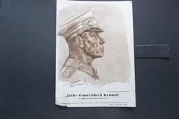 Deutsches Reich: 1944 Portrait Of General Rommel (#BY11) - Covers & Documents