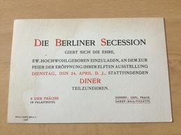 GÖ1939 Deutsches Reich Ca. 1905 Berliner Secession - Allemagne