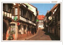 CPM 67 (Bas-Rhin) Barr - Rue Des Maréchaux, Boulangerie Et Pharmacie TBE - Barr