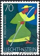 Liechtenstein 1967 - Mi 491 - YT 440 ( St Fridolin ) - Usati