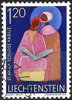 Liechtenstein 1967 - Mi 494 - YT 443 ( Ste Anne ) - Usati