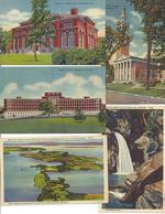Lot Of 5 Cards From Vermont, 4 Unused (12813) - Burlington