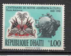 Haïti, Haitia, UPU, U.P.U., Armoiries, Coat Of Arms, Canon - U.P.U.