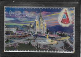 AK 0407  Gruss Aus Mariazell - Silber-Prägekarte Um 1935 - Mariazell