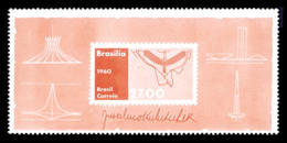 BRAZIL 1960 S/S Mint MNH // Inauguration Of Brasilia And J. Kubitschek Bithday - Blokken & Velletjes
