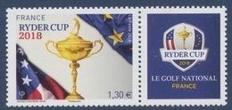 N° 5245 Ryder Cup Faciale 1,30 € - Unused Stamps