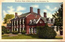 Virginia Alexandria Woodlawn Home Of Nellie Curtis - Alexandria