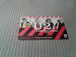 Netherlands - Nice Arena Card U2 - Pays-Bas