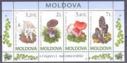 2010. Moldova, Mushrooms, S/s, Mint/** - Moldavia