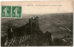 61kb 711 CPA - TURENNE - VUE PANORAMIQUE PRISE DE LA TOUR DE CESAR - Francia
