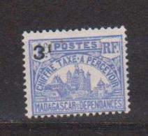 MADAGASCAR             N°  YVERT   TAXE   19        NEUF SANS CHARNIERE      ( Nsch 02/19 ) - Madagascar (1889-1960)