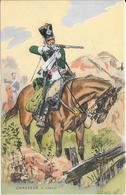 Editions Militaires Illustrées N° 338- Format Cpa Et Format Image : CHASSEUR à Cheval - Militari