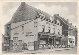 "Averbode , Hotel "" De Engel "" M. Corens-Wollants ,( Café , Pub Bière  Stella Artois , Brasserie + Martini Rossi ) - Scherpenheuvel-Zichem"