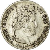 Monnaie, France, Louis-Philippe, 1/4 Franc, 1831, Lille, TTB, Argent,Gad 355 - France
