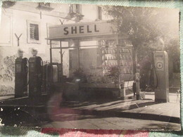 Foto Benzinaio Shell / Anni 60 - Mestieri