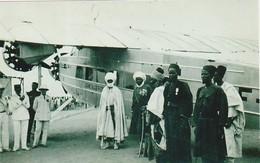 """Cameroun, Le Lamido Et Son"""" Premier Ministre """" Garoua, Photo, No Postcard, 2 Scans - Reproductions"""