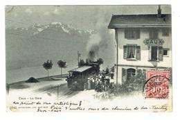SUISSE CAUX La Gare - VD Vaud