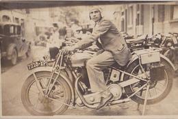 CARTE PHOTO Moto Ancienne - Motorbikes