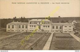 78. GRIGNON . ECOLE NATIONALE D'AGRICULTURE . Les Grands Laboratoires . - Grignon