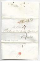 REPUBBLICA ROMANA - DA NIDASTORE A CORINALDO - 21.2.1849 - TESTO STORICO. - Italia