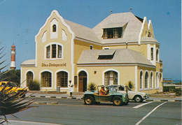 SOUTH WEST AFRICA / NAMIBIA  -  SWAKOPMUND  -  1999  ,   Lighthouse  ,  Leuchtturm , Altes Amtsgericht - Namibia
