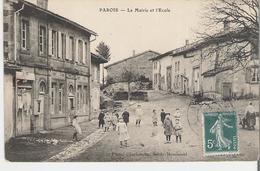 PAROIS. CPA La Mairie Et Ecole - France