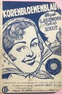 (17) Partituur - Korenbloemenblauw - Scholte - G. Jussenhoven - Uitgaven Ch. Bens - Partituren