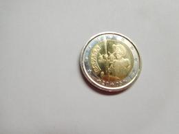 Piéce 2 Euros Commémoratif 2005 , Espagne , Cote : 6 Euros , Bon état - Spain