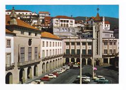Portugal Covilha Vers Guarda N°431 Place Hôtel De Ville Théâtre Cinéma Tube Citroën Ford Anglia Austin Mini Renault 4L - Guarda