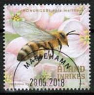 2018 Aland Islands, Bee Culture Fine Used. - Aland